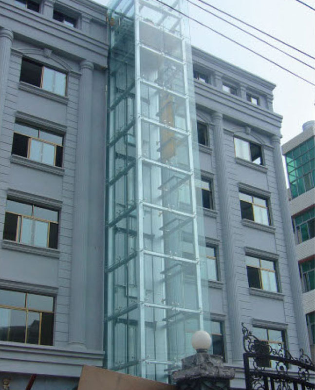 The Old Building Elevator